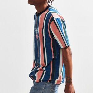 56e06f5dd0 adidas Tops | Guess David Sayer Striped Tee | Poshmark
